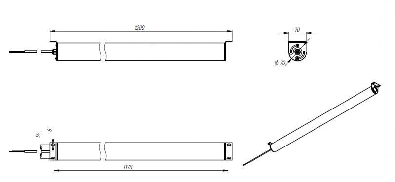 Светодиодный светильник FPL-Фермер2